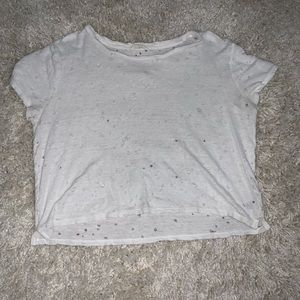 Aeropostale distressed crop top